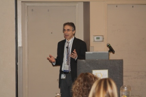 Doug I. Katz, MD delivers the keynote address.