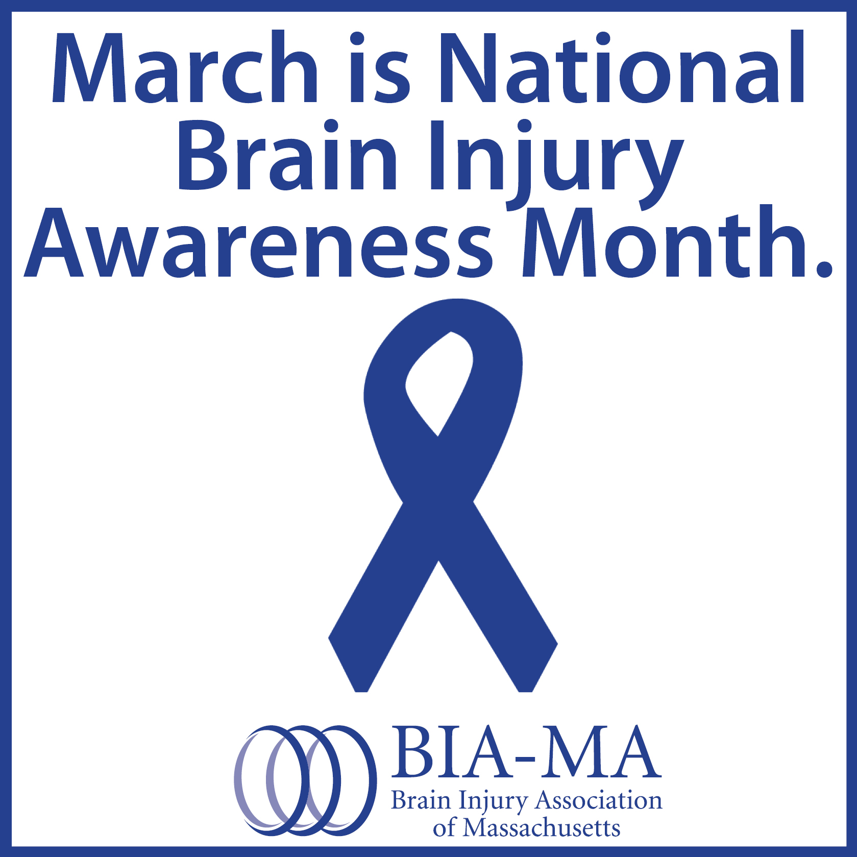 Image result for national brain injury awareness month