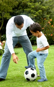 bigstockphoto_Father_And_Son_Having_Fun_2648514