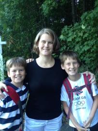 Heidi & her sons