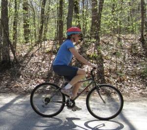 tvenell riding bike