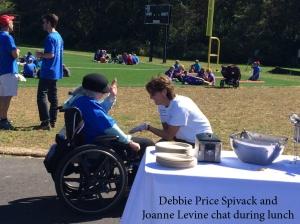 debbie price spivack and joanne levine walk 2015